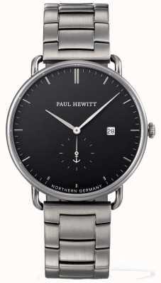 Paul Hewitt Mens pulseira de aço inoxidável grande atlântico PH-TGA-GM-B-4M