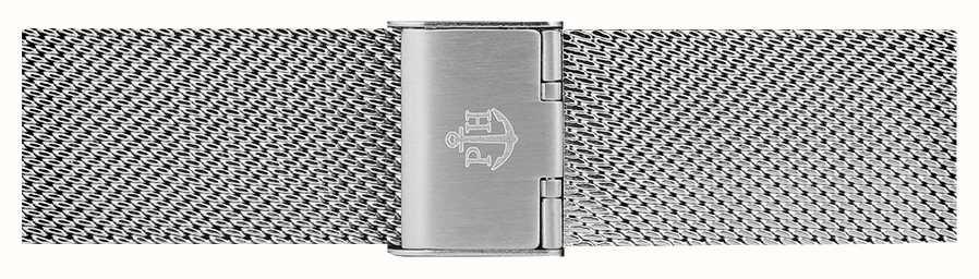Paul Hewitt | Correia de malha de aço inoxidável de 20 mm | fecho dobrável | PH-M1-S-4M