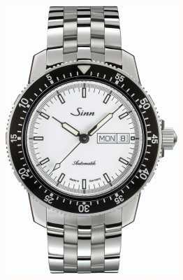 Sinn 104 st sa iw clássico piloto relógio pulseira fina de aço inoxidável 104.012 BRACELET