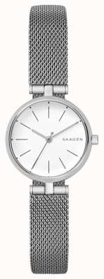Skagen Womens signatur aço inoxidável petit watch SKW2642