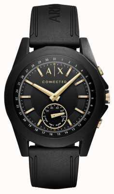 Armani Exchange Mens smartwatch híbrido conectado em preto AXT1004