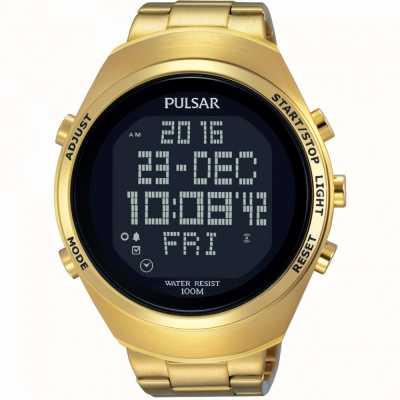 Pulsar Cronógrafo de alarme masculino PQ2056X1