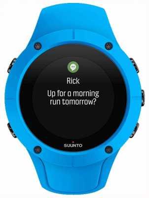 Suunto Unisex spartan trainer pulso hr relógio esporte azul SS023002000
