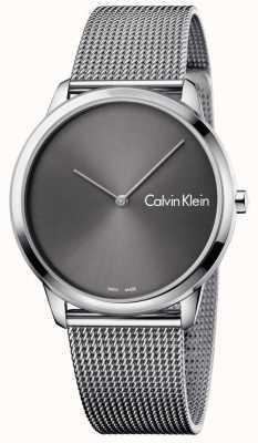 Calvin Klein Cinta de malha de relógio mínima unisex K3M211Y3