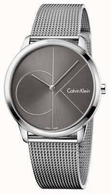 Calvin Klein Cinta de malha de relógio mínima unisex K3M21123