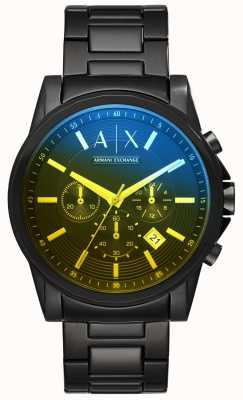 Armani Exchange Mens outerbanks pulseira de aço inoxidável AX2513
