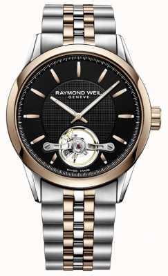 Raymond Weil Freelancer automático | pulseira de aço inoxidável de dois tons | 2780-SP5-20001