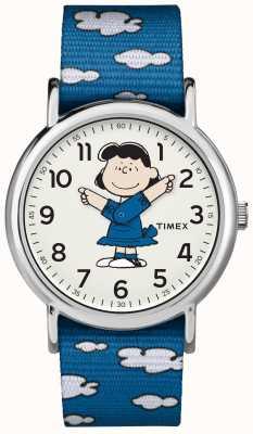 Timex Bracelete azul lucy watch TW2R413006B