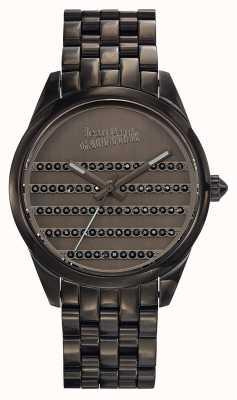 Jean Paul Gaultier Bracelete e mostrador em metal da Marinha JP8502406
