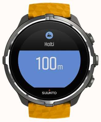 Suunto Relógio do bluetooth do barómetro do monitor da frequência cardíaca do esporte de Spartan SS050000000