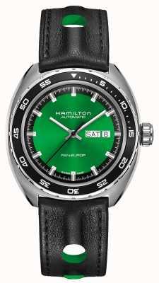 Hamilton Pan clássico americano europ auto green dial H35415761