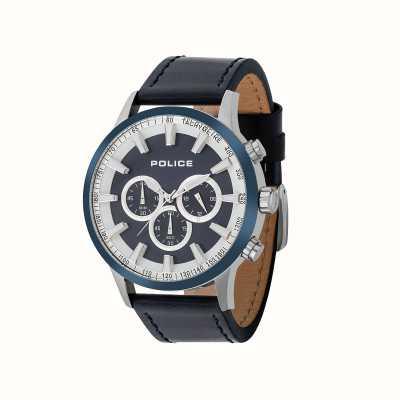 Police Relógio de cronógrafo de momento de polícia de homens 15000JSTBL/03
