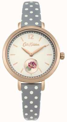 Cath Kidston Esporte khaki impressão rosa impressão discagem polkadot cinta CKL036NRG