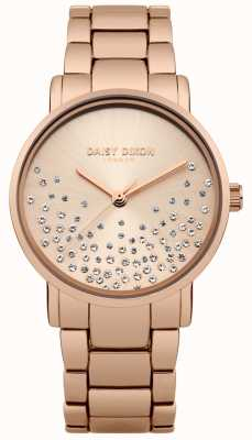 Daisy Dixon Pulseira de ouro rosa rosa ouro dial DD053RGM