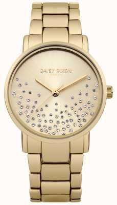 Daisy Dixon Pulseira de ouro ouro sunray dial glitter DD053GM