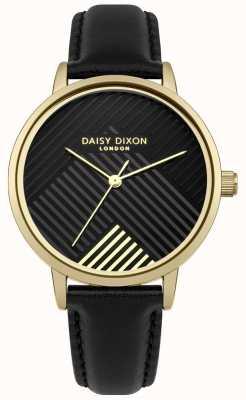 Daisy Dixon Bracelete preta com mostrador preto fosco DD056BG