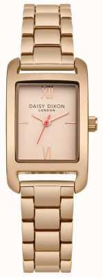 Daisy Dixon Pulseira de ouro rosa rosa cetim ouro DD057RGM
