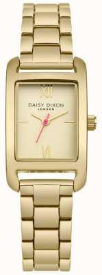 Daisy Dixon Mostrador de cetim ouro pulseira de ouro DD057GM