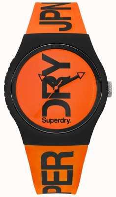 Superdry Correia de silicone laranja laranja SYG189OB