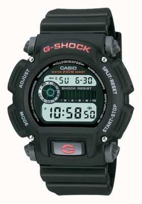 Casio Cronógrafo de resina preta digital G-shock DW-9052-1VER