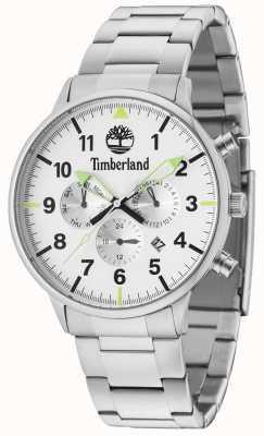 Timberland Pulseira prateada Spaulding prata multi dial 15263JS/01M