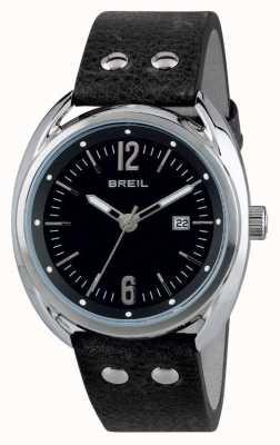 Breil Bracelete preto em aço inoxidável Beaubourg TW1669