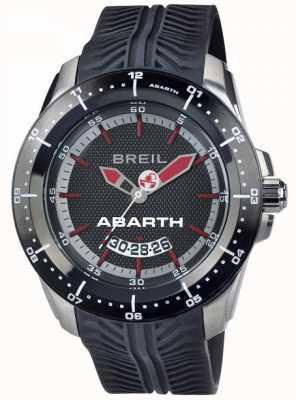 Breil Abarth aço inoxidável ip preto e vermelho indicador de discagem TW1486