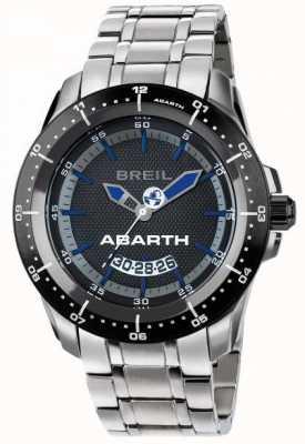 Breil Abarth aço inoxidável ip black & blue dial TW1487