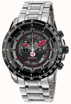 Breil Abarth aço inoxidável ip cronógrafo black & red dial TW1491