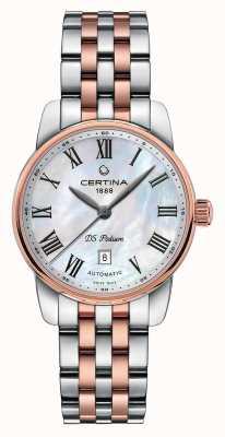 Certina Relógio automático de pódio ds para mulher C0010072211300