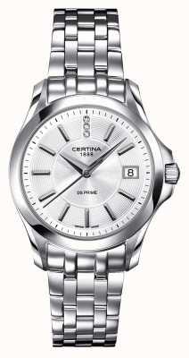 Certina Relógio de diamantes ds prime para mulher C0042101103600