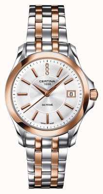 Certina Relógio de diamantes ds prime para mulher C0042102203600