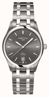Certina Mens ds-4 titanium watch C0224104408100
