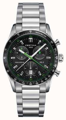 Certina Mens ds-2 precidrive relógio cronógrafo C0244471105102