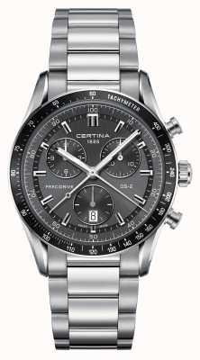 Certina Mens ds-2 precidrive relógio cronógrafo C0244471108100