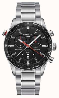 Certina Mens ds-2 precidrive flyback relógio cronógrafo C0246181105101