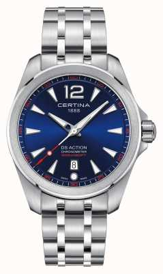 Certina Mens ds action blue dial watch C0328511104700