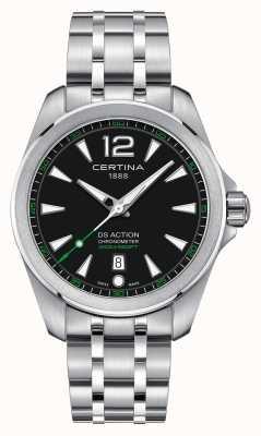 Certina Mens ds relógio de ação C0328511105702