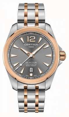 Certina Mens ds relógio cronômetro de ação C0328512208700