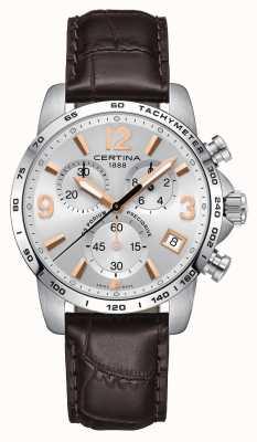 Certina Mens ds relógio de cronômetro precidrive pódio C0344171603701