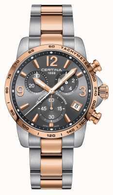 Certina Mens ds relógio de cronômetro precidrive pódio C0344172208700
