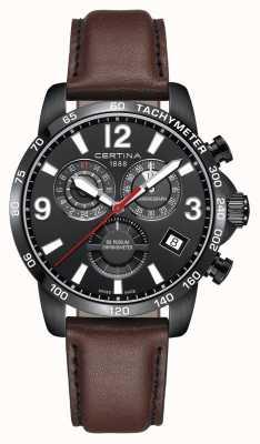 Certina Mens ds relógio cronômetro pódio C0346543605700