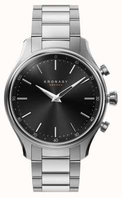 Kronaby Smartwatch de aço do bracelete do metal do bluetooth do sekel de 38mm A1000-2750