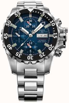 Ball Watch Company Mens engenheiro azul nedu hidrocarboneto 600m crono automático DC3026A-SC-BE