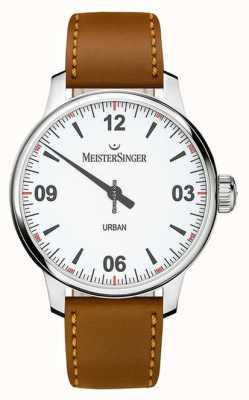 MeisterSinger Mostrador branco urbano opaline silver UR901