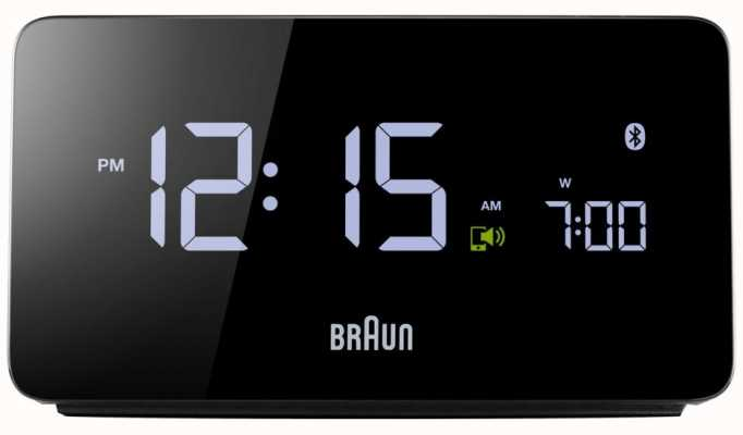 Braun Ex display digital bluetooth despertador BNC020BK EX DISPLAY