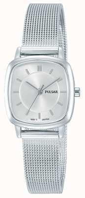 Pulsar Resistência de aço inoxidável 30m pulseira de malha das mulheres PH8375X1