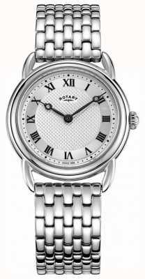 Rotary Bracelete de aço inoxidável canterbury feminino LB05335/21