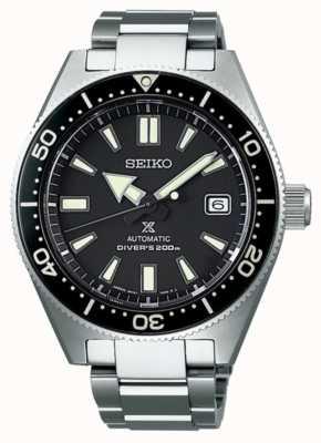 Seiko prospex mergulhadores recreação mostrador preto relógio automático SPB051J1