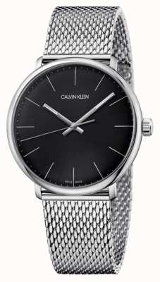 Calvin Klein Relógio de marcação preto alto dia dos homens K8M21121